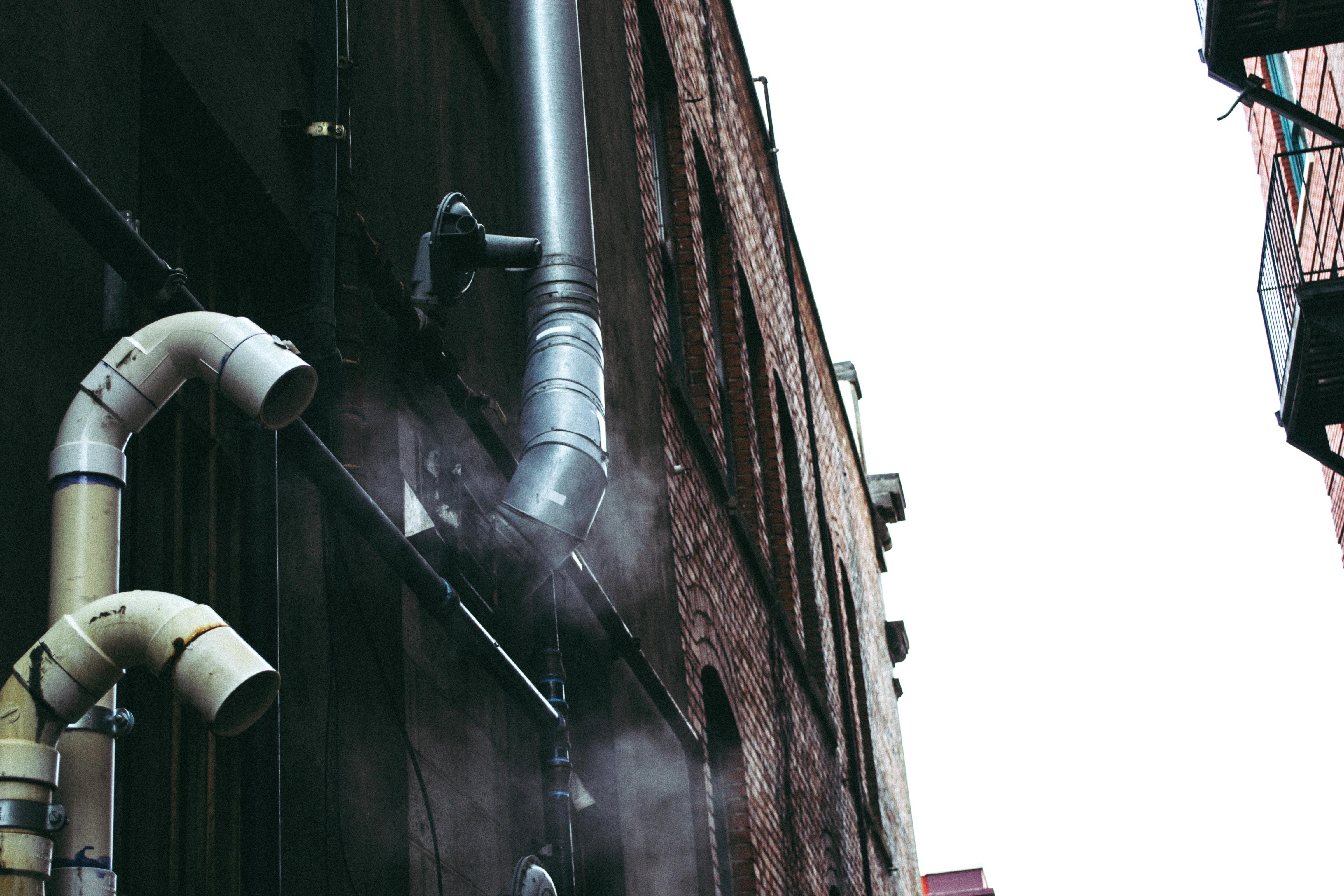 mal olor: cambiar el bajante de la comunidad