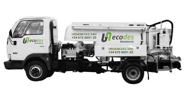 Camión cuba Desatascos Ecodes